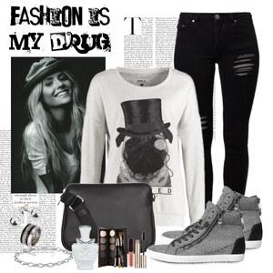 Outfit drug of fashion von Justine