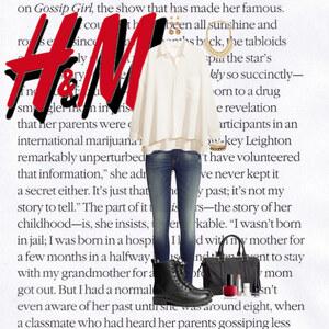 Outfit H&M von Alexandra Pavenzinger