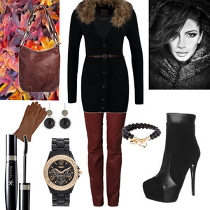 Outfit fake fure von Claudia Giese