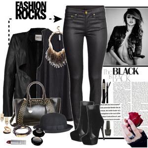 Outfit black f von Ania Sz