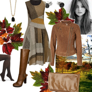 Outfit Herbstspaziergang von Claudia Giese