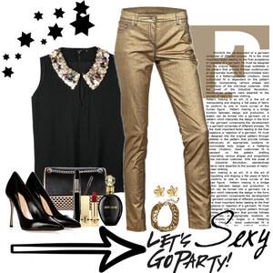 Outfit gold star von Ania Sz