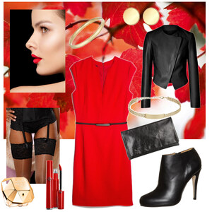 Outfit Lady red von A.N.N.A
