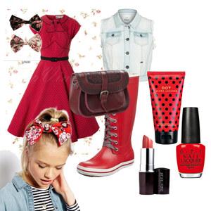 Outfit Retro-Look von Verena Schnall