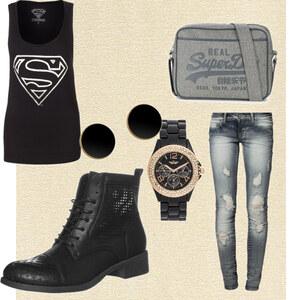 Outfit Superman  von Jeanine