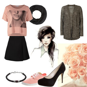 Outfit rosa ist toll von Sara Blueland