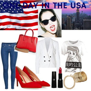 Outfit One Day in the USA von YAS MINA