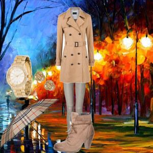 Outfit spaziergang im herbst von Notenherz