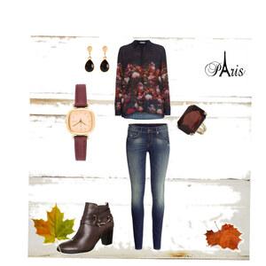 Outfit herbstlich von Anni