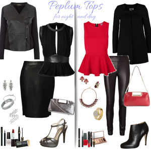 Outfit Peplum tops - for night and day von Natalie