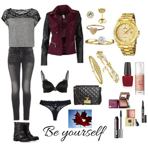 Outfit Everyday Golden Life von carnikop