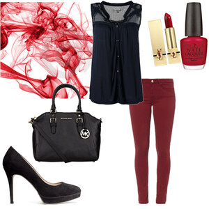 Outfit red von anne.vanbeek