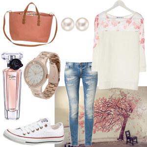 Outfit rosa von anne.vanbeek