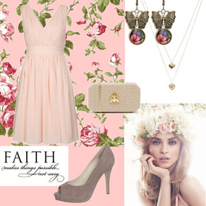 Outfit flower power von Claudia Giese