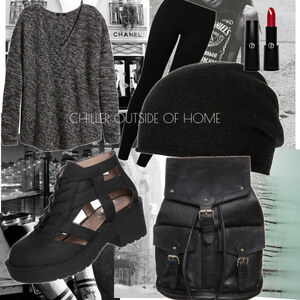 Outfit chiller outside of home von Soraya Loch