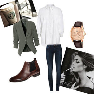 Outfit coffee and smoke von Anni