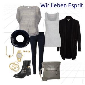 Outfit Wir lieben Esprit von Natalie