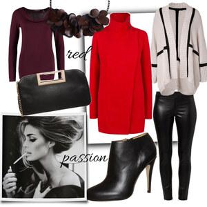 Outfit red passion von eine_hexe