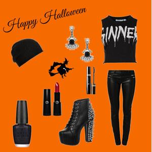 Outfit Happy Halloween von Muffin