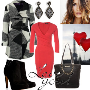 Outfit black`n red von Claudia Giese
