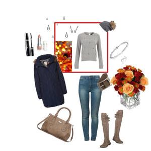 Outfit Herbstspaziergang von Melanie Bach