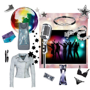 Outfit Party von Melanie Bach