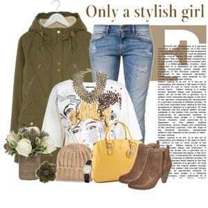 Outfit stylish girl von Ania Sz