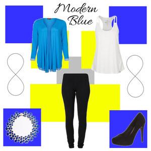Outfit ModernBlue von Katinka