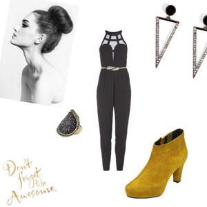 Outfit yellow von Anni