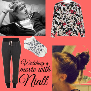 Outfit watching movie with niall von Lisa Bunzel