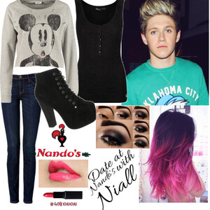 Outfit date at nando's with niall von Lisa Bunzel