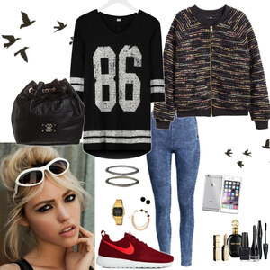 Outfit young&sporty von Natalie