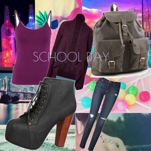 Outfit School day von Soraya Loch
