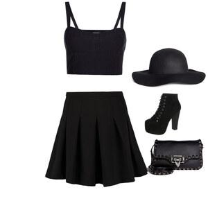 Outfit Black  von Lirabella