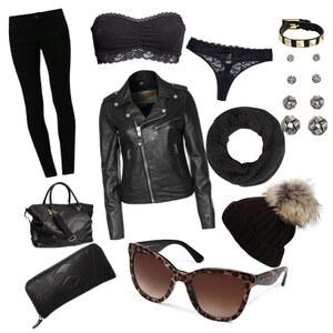 Outfit Schwarzer Traum! von Anna Elsner
