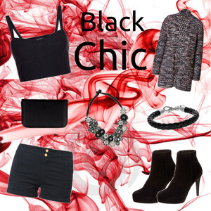 Outfit Black Chic  von Katinka
