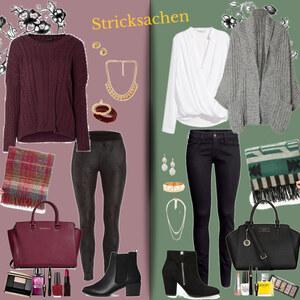 Outfit Stricksachen von Natalie