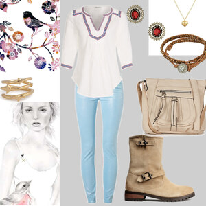 Outfit birdy von Claudia Giese