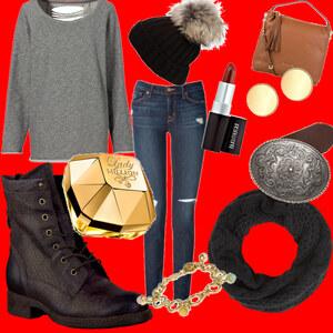 Outfit Advent, Advent ein lichtlein brennt. von Jeanine