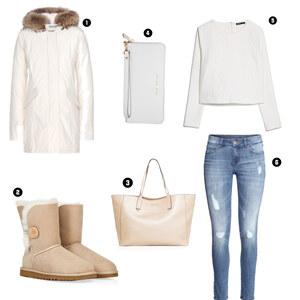 Outfit White Cozy Days  von BB Foxy