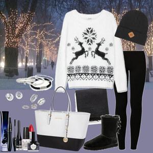 Outfit winter norweger pullover von Natalie
