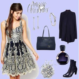 Outfit elegante Weihnachten von selinavolk
