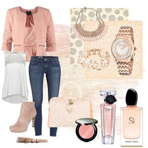 Outfit rosé von selinavolk