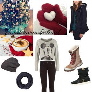 Outfit Winterwunderland von Sara Blueland