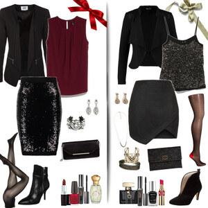 Outfit glamorous christmas  von Natalie