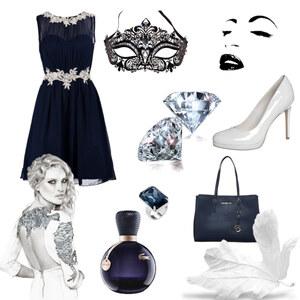 Outfit Mitternachts blau von selinavolk