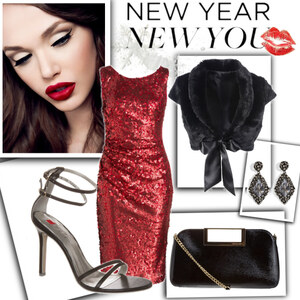 Outfit Silvester Style von domodi