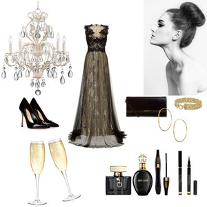 Outfit Silvester Party von selinavolk