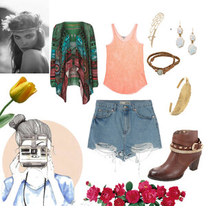 Outfit Hippy von Charlotte Loos