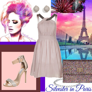 Outfit silvester in Paris von Claudia Giese